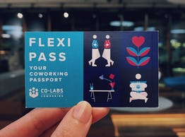 Introducing the Co-labs Coworking Flexi Pass : Work from only RM18/day