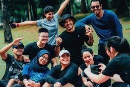 #SweatLab | The LabFam Goes Outdoors : Hiking at Taman Tugu