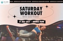 #SweatLab | Lockdown Edition: Saturday Workout with Mae Vonne (Animal Flow)