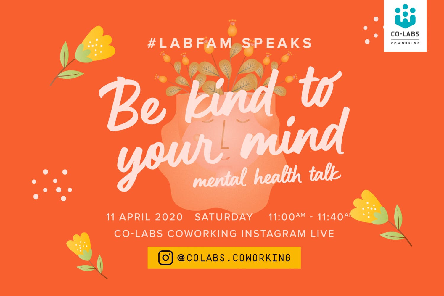 #LabFam Speaks: Be Kind to your Mind [Virtual Chat]