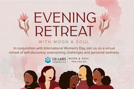 An Evening Retreat with Moon and Soul
