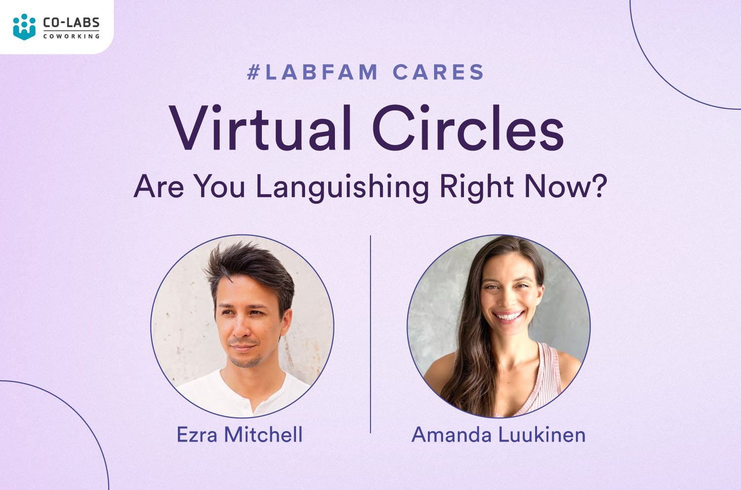 Virtual Circles: Are You Languishing Right Now?
