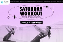 #SweatLab: Saturday Workout with Nadia Ismail (Tone Pilates)