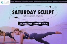 #SweatLab | Lockdown Edition: Saturday Sculpt with Nadia Ismail (Pilates Sculpt)