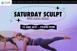 #SweatLab | Lockdown Edition: Saturday Sculpt with Nadia Ismail (Pilates Flow)