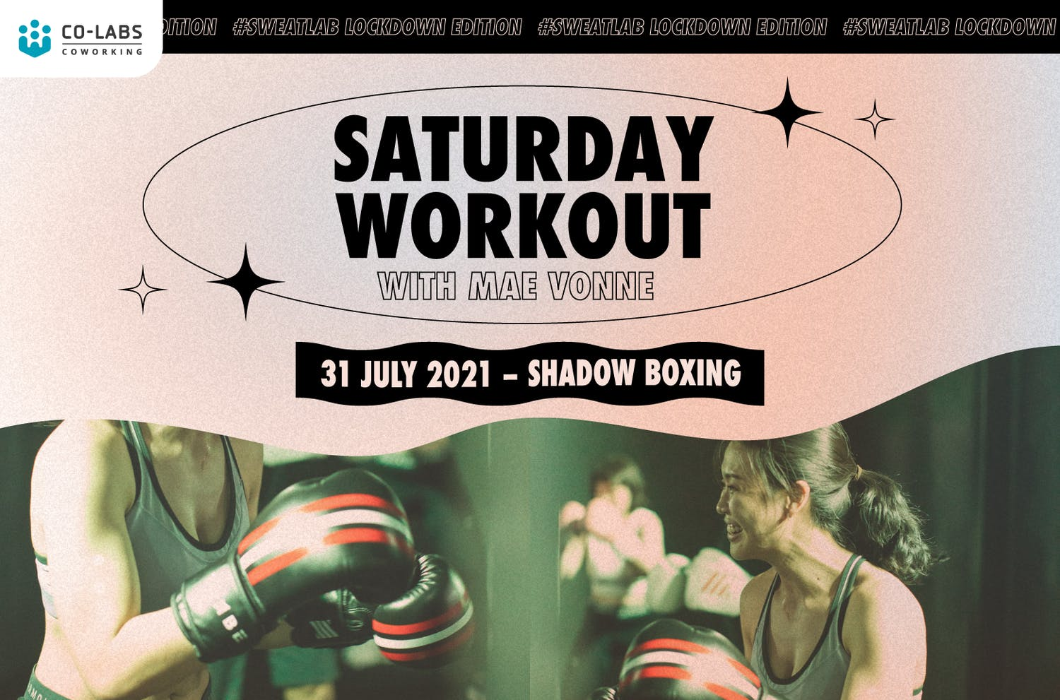 #SweatLab | Lockdown Edition: Saturday Workout with Mae Vonne (Shadow Boxing)