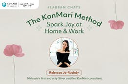 #LabFam Chats: The KonMari Method – Spark Joy at Home & Work