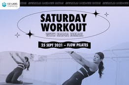 #SweatLab Lockdown Edition: Saturday Workout with Nadia Ismail (Flow Pilates)
